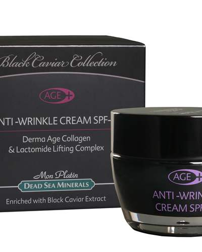 BC Derma Age Collagen Anti-Wrinkle Cream SPF15 enriched with black caviar