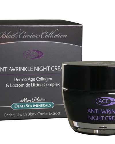 BC Derma Age Collagen Anti-Wrinkle Night Cream enriched with Black Caviar