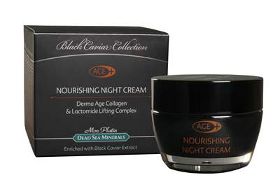 BC Derma Age Collagen Nourishing Night Cream enriched with black caviar