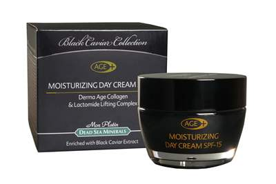 BC Derma Age Collagen Moisturizing Day Cream SPF15 enriched with black caviar